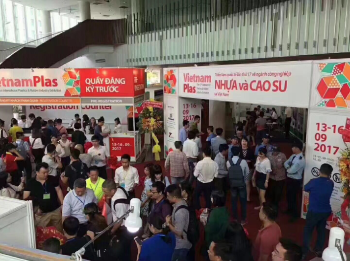 Oriplas Attended in the 17th VietnamPlas from 13th to 16th September 2017